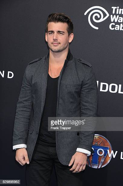 """Actor John DeLuca arrives at the world premiere of """"Tomorrowland"""" held at the AMC Downtown Disney 12 theaters."""
