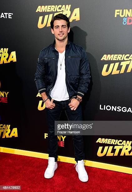 Actor John DeLuca attends PalmStar Media And Lionsgate's 'American Ultra' premiere at the Ace Theater Downtown LA on August 18 2015 in Los Angeles...