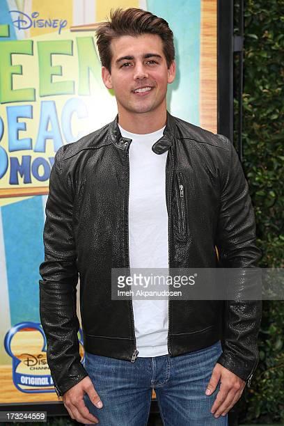 Actor John DeLuca attends the cast of 'Teen Beach Movie' reunion for movie night at Walt Disney Studios on July 10, 2013 in Burbank, California.