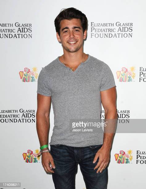 """Actor John DeLuca attends the Elizabeth Glaser Pediatric AIDS Foundation's 24th annual """"A Time For Heroes"""" at Century Park on June 2, 2013 in Los..."""
