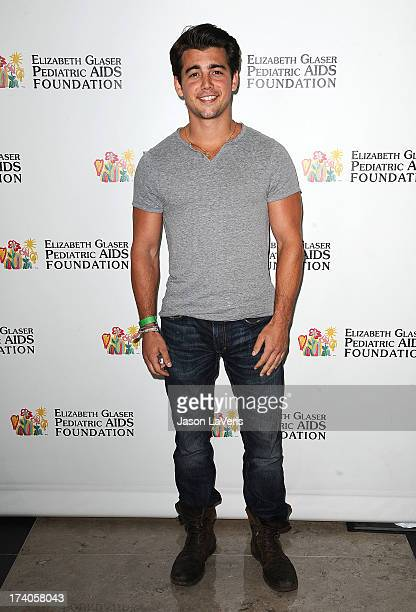 Actor John DeLuca attends the Elizabeth Glaser Pediatric AIDS Foundation's 24th annual A Time For Heroes at Century Park on June 2 2013 in Los...