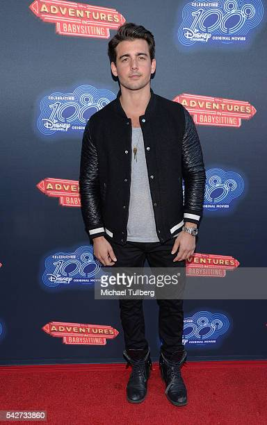 """Actor John DeLuca attends the premiere of 100th Disney Channel's Original Movie """"Adventures In Babysitting"""" and celebration of all DCOMS at Directors..."""