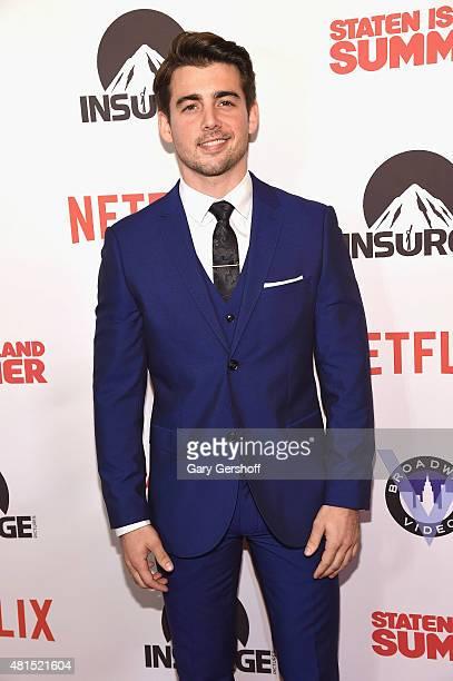 "Actor John DeLuca attends the ""Staten Island Summer"" New York Premiere at Sunshine Landmark on July 21, 2015 in New York City."