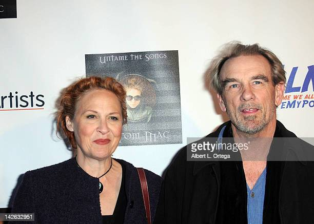 """Actor John Diehl and wife Julie Christensen arrive for the G Tom Mac CD Release Party For """"Untame The Songs"""" held at Rolling Stone Restaurant &..."""