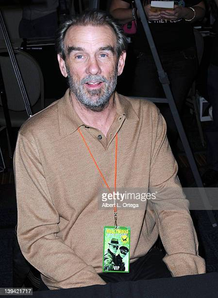 """Actor John Diehl of """"Miami Vice"""" attends the Hollywood Show held at Burbank Airport Marriott on February 11, 2012 in Burbank, California."""