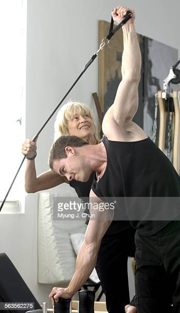 Actor John Farrell has been a client of Mari Winsor for the past five months as he gets into shape for a movie role Winsor Pilates increases...