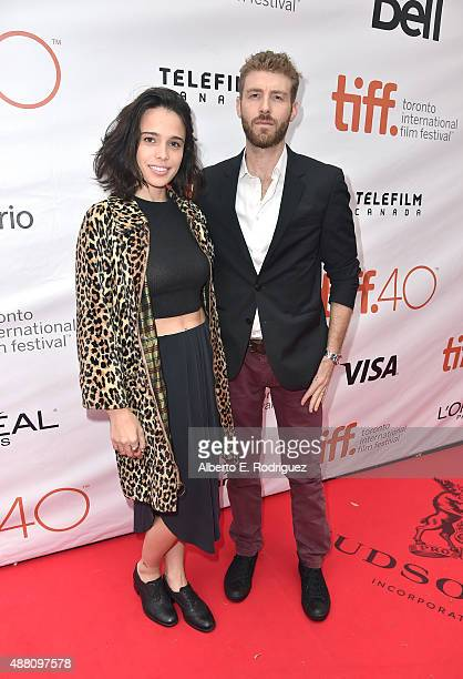 Actor John Foster and Chelsea Tyler attend The Program premiere during the 2015 Toronto International Film Festival at Roy Thomson Hall on September...