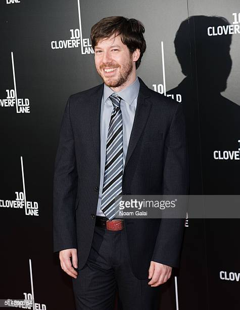 Actor John Gallagher Jr attends '10 Cloverfield Lane' New York premiere at AMC Loews Lincoln Square 13 theater on March 8 2016 in New York City