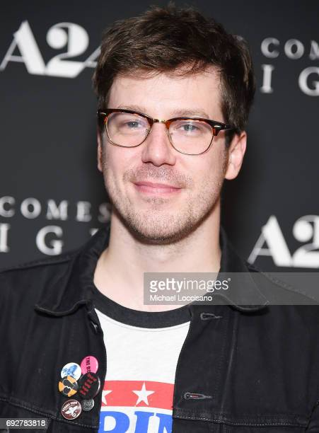 Actor John Gallagher Jr attends the 'It Comes At Night' New York premiere at The Metrograph on June 5 2017 in New York City