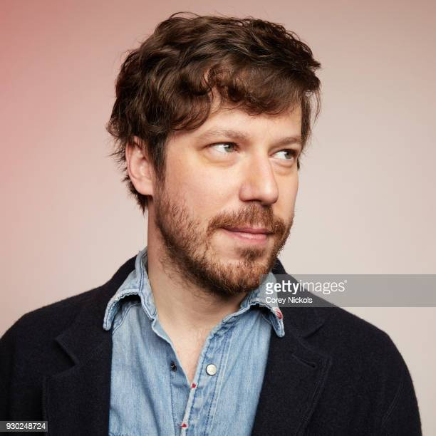 Actor John Gallagher Jr from the film 'Sadie' poses for a portrait in the Getty Images Portrait Studio Powered by Pizza Hut at the 2018 SXSW Film...