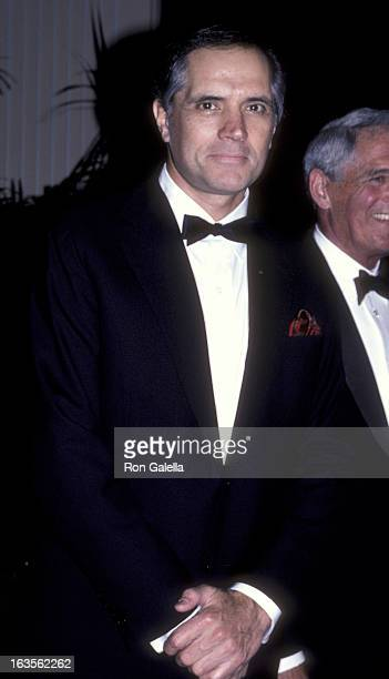 Actor John Gavin attends the Army Ball on June 7 1986 at the Beverly Hilton Hotel in Beverly Hills California