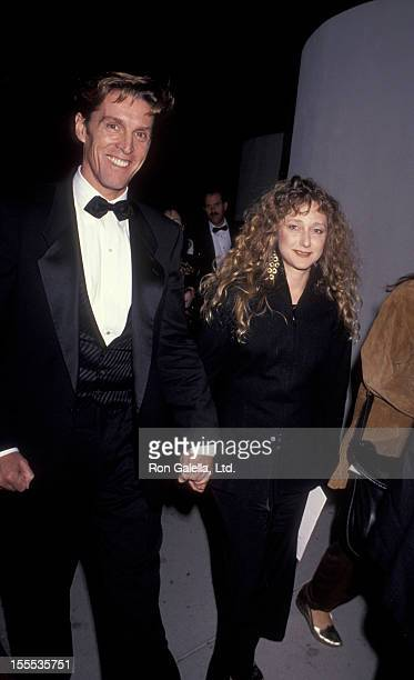 Actor John Glover and actress Carol Kane attend the premiere of The Russia House on December 4 1990 at Cinerama Dome Theater in Universal City...
