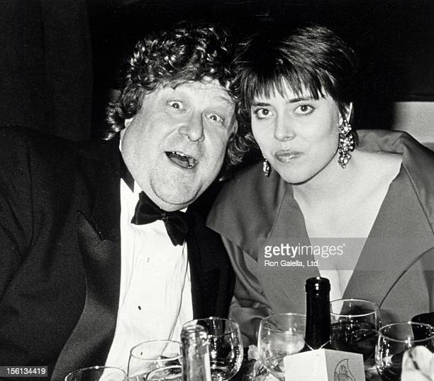 Actor John Goodman and Annabeth Hartzog attending 16th Annual People's Choice Awards on March 11 1990 at Universal Studios in Universal City...