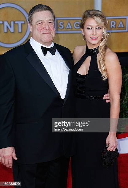 Actor John Goodman and daughter Molly Evangeline Goodman attend the 19th Annual Screen Actors Guild Awards at The Shrine Auditorium on January 27...