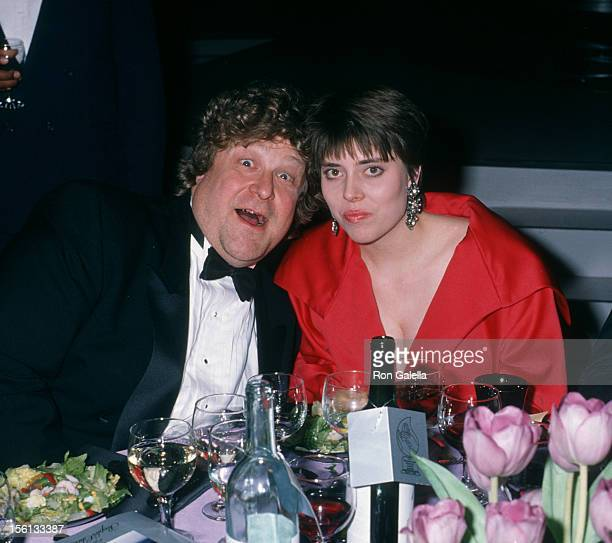 Actor John Goodman and wife Annabeth Hartzog attending 16th Annual People's Choice Awards on March 11 1990 at the Universal Amphitheater in Universal...