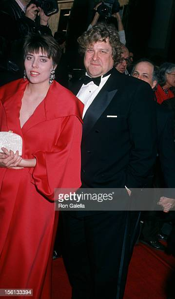 Actor John Goodman and wife Annabeth Hartzog attending 16th Annual People's Choice Awards on March 11, 1990 at the Universal Ampitheater in Universal...
