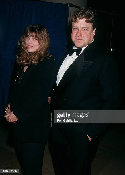 Actor John Goodman and wife Annabeth Hartzog attending 50th Annual Golden Globe Awards on January 23 1993 at the Beverly Hilton Hotel in Beverly...