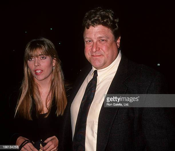 Actor John Goodman and wife Annabeth Hartzog attending the opening night of 'Picasso at Lapin Agile' on October 22 1994 at the Westwood Playhouse in...