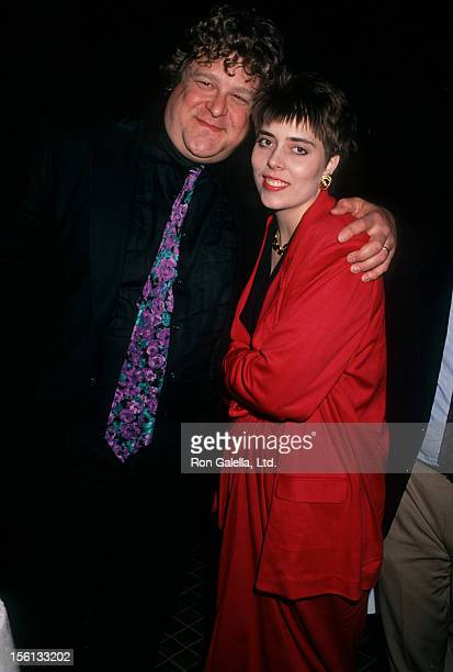 Actor John Goodman and wife Annabeth Hartzog attending the premiere of 'Stella' on January 31, 1991 at the Westwood Avco Theater in Westwood,...