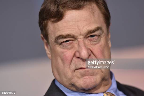 Actor John Goodman arrives at the Los Angeles Premiere of 'Kong Skull Island' at Dolby Theatre on March 8 2017 in Hollywood California