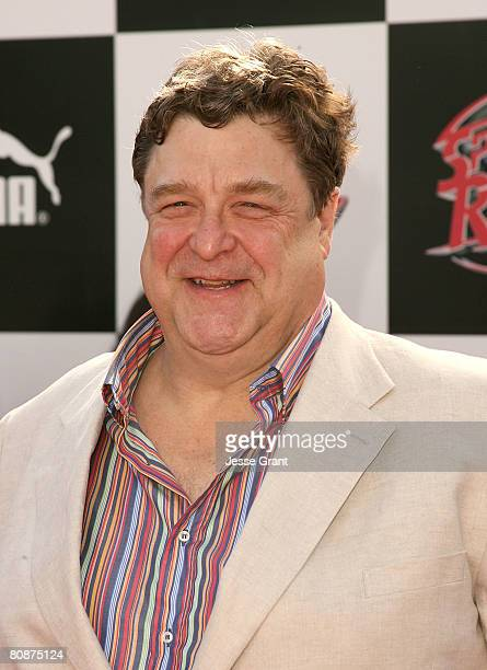 Actor John Goodman arrives at the Speed Racer world premiere at the Nokia Theatre on April 26 2008 in Los Angeles California