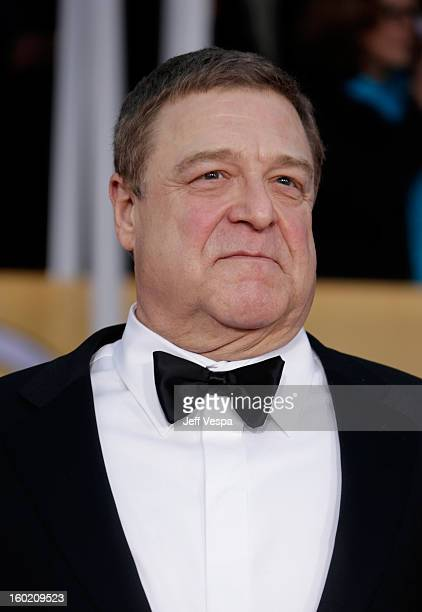 Actor John Goodman arrives at the19th Annual Screen Actors Guild Awards held at The Shrine Auditorium on January 27 2013 in Los Angeles California