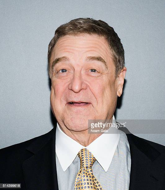 Actor John Goodman attends '10 Cloverfield Lane' New York premiere at AMC Loews Lincoln Square 13 theater on March 8 2016 in New York City