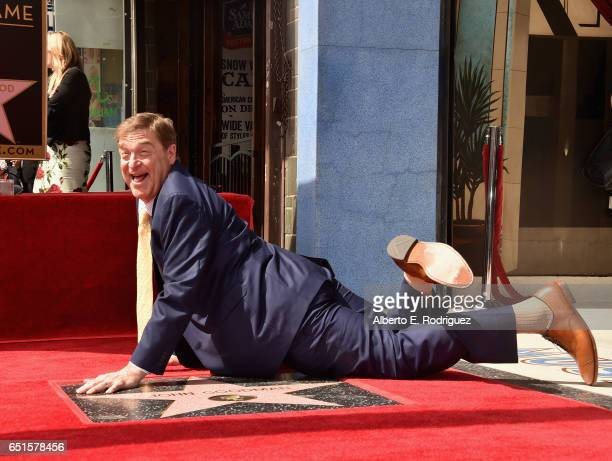Actor John Goodman attends a ceremony honoring him with the 2604th Star on The Hollywood Walk of Fame on March 10 2017 in Hollywood California