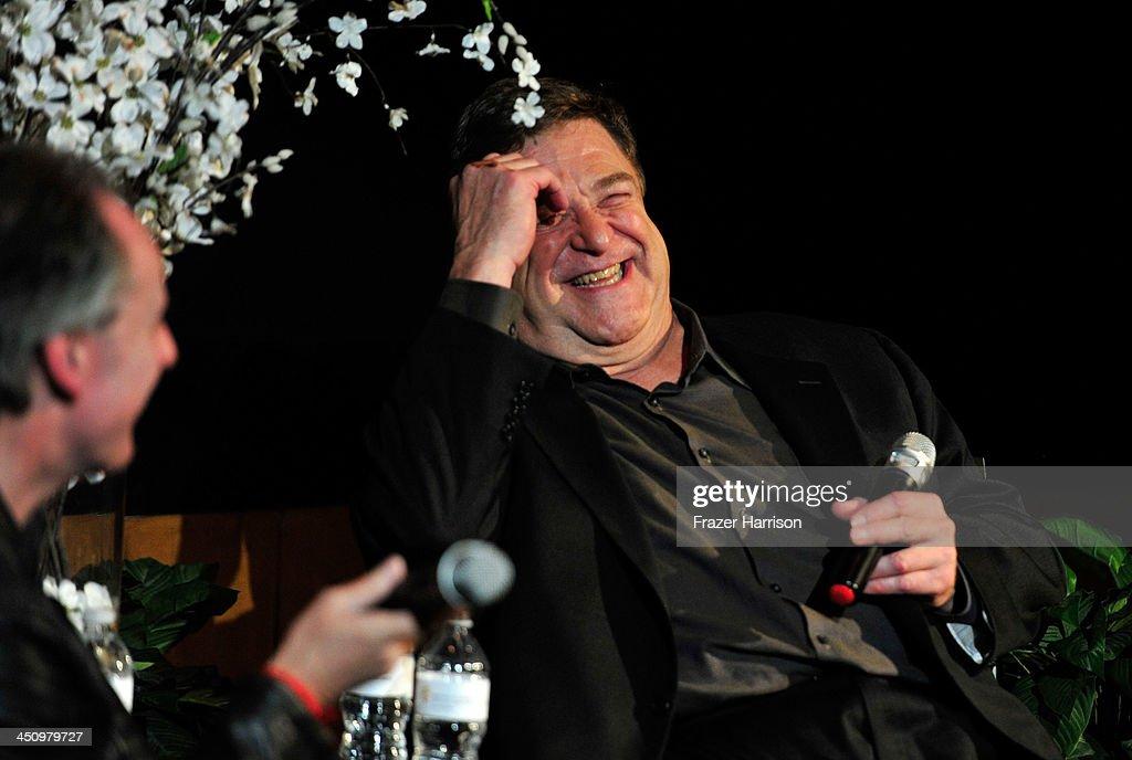 Actor John Goodman attends BAFTA LA Behind Closed Doors With John Goodman at the Chaplin Theater  sc 1 st  Getty Images & BAFTA LA Behind Closed Doors With John Goodman Photos and Images ...