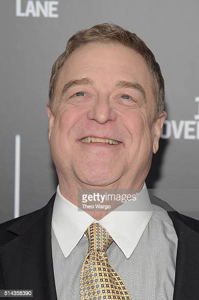 Actor John Goodman attends the 10 Cloverfield Lane New York premiere at AMC Loews Lincoln Square 13 theater on March 8 2016 in New York City