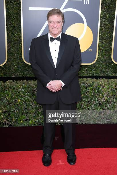 Actor John Goodman attends The 75th Annual Golden Globe Awards at The Beverly Hilton Hotel on January 7 2018 in Beverly Hills California