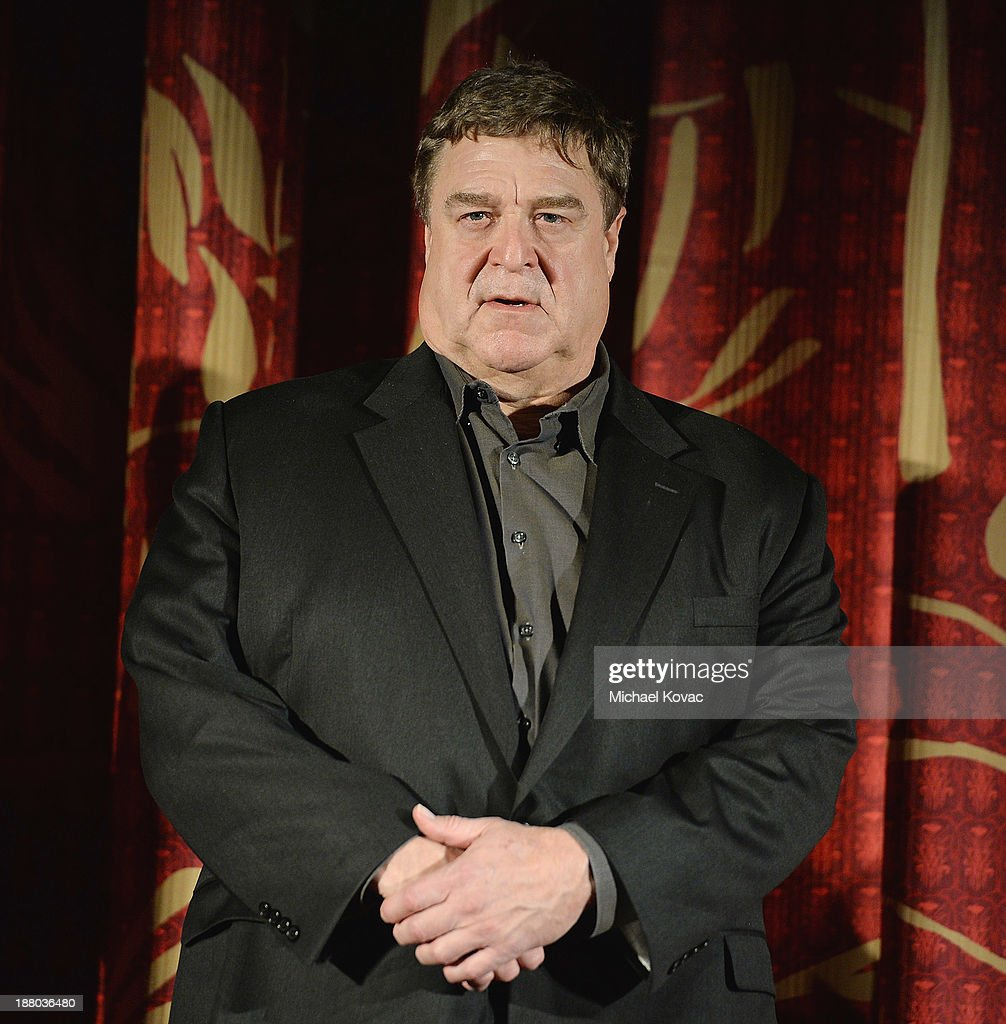 Actor John Goodman attends the AFI FEST 2013 presented by Audi closing night gala screening of 'Inside Llewyn Davis' at TCL Chinese Theatre on November 14, 2013 in Hollywood, California.