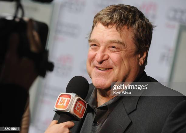 Actor John Goodman attends the AFI Premiere Screening of 'Inside Llewyn Davis' at TCL Chinese Theatre on November 14 2013 in Hollywood California