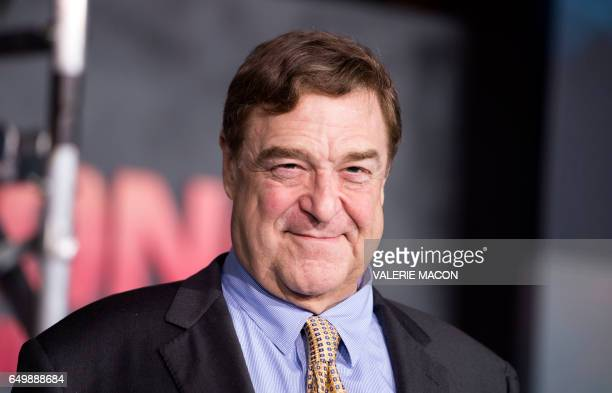 Actor John Goodman attends the Los Angeles premiere of Warner Bros Kong Skull Island at the Dolby Theatre on March 8 in Hollywood California / AFP...