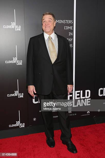Actor John Goodman attends the New York premiere of '10 Cloverfield Lane' at AMC Loews Lincoln Square 13 theater on March 8 2016 in New York City