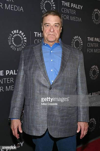 Actor John Goodman attends The Paley Center For Media presents An evening with Roseanne at The Paley Center for Media on March 26 2018 in New York...
