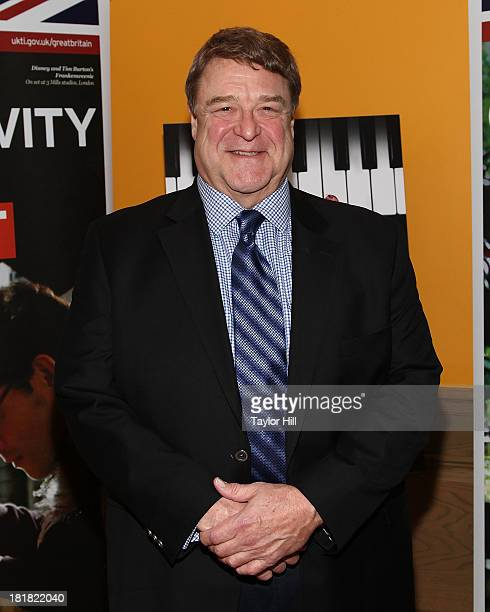 Actor John Goodman attends the premiere of 'Dancing On The Edge' at the Crosby Hotel on September 25 2013 in New York City
