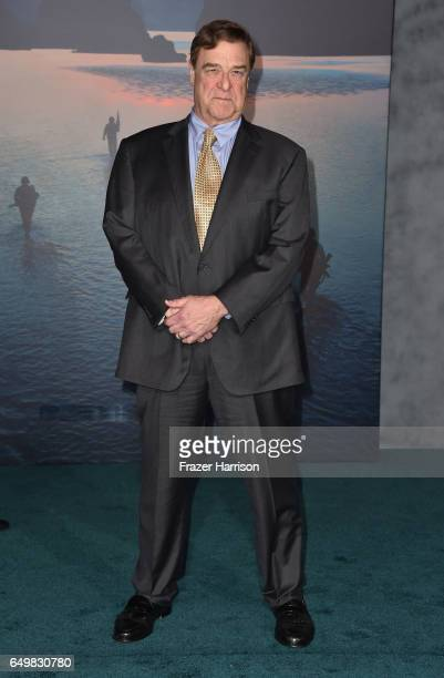 Actor John Goodman attends the premiere of Warner Bros Pictures' 'Kong Skull Island' at Dolby Theatre on March 8 2017 in Hollywood California