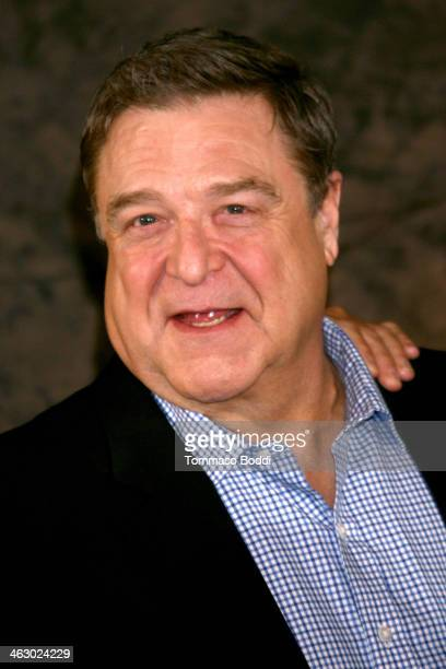 """Actor John Goodman attends the """"The Monuments Men"""" Los Angeles photo call held at the Four Seasons Hotel Los Angeles at Beverly Hills on January 16,..."""