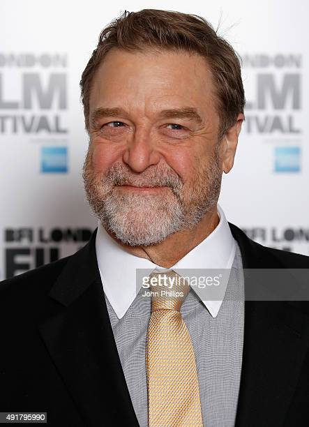 Actor John Goodman attends the Trumbo photocall during the BFI London Film Festival at Corinthia Hotel London on October 8 2015 in London England