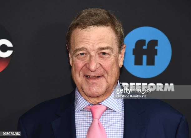Actor John Goodman of Roseanne attends during 2018 Disney ABC Freeform Upfront at Tavern On The Green on May 15 2018 in New York City