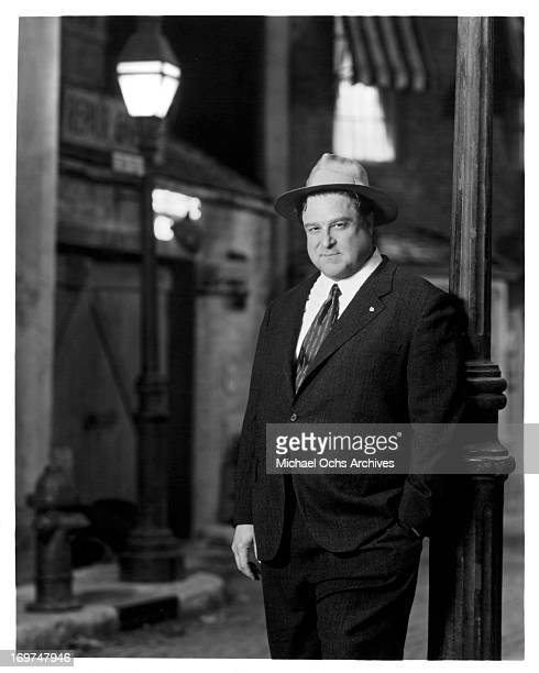 """Actor John Goodman poses for a portrait on the set of """"A Streetcar Named Desire"""" in circa 1995."""