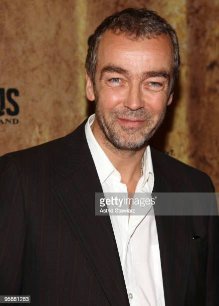 Actor John Hannah attends the premiere of Spartacus Blood and Sand at the Tribeca Grand Screening Room on January 19 2010 in New York City
