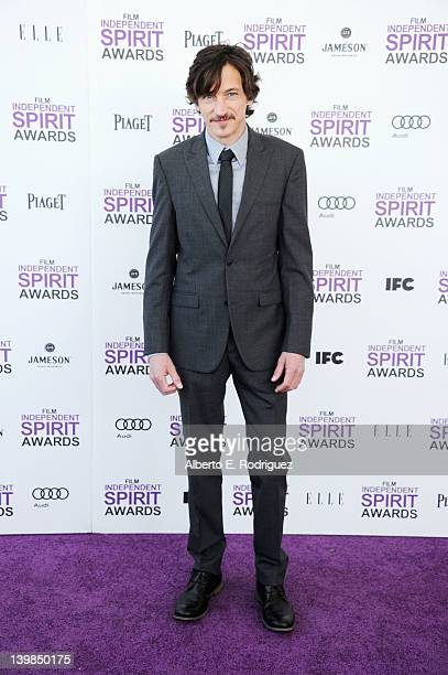 Actor John Hawkes arrives at the 2012 Film Independent Spirit Awards on February 25 2012 in Santa Monica California