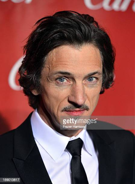 Actor John Hawkes arrives at the 24th annual Palm Springs International Film Festival Awards Gala at the Palm Springs Convention Center on January 5...
