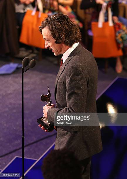 Actor John Hawkes attends the 2013 Film Independent Spirit Awards at Santa Monica Beach on February 23 2013 in Santa Monica California