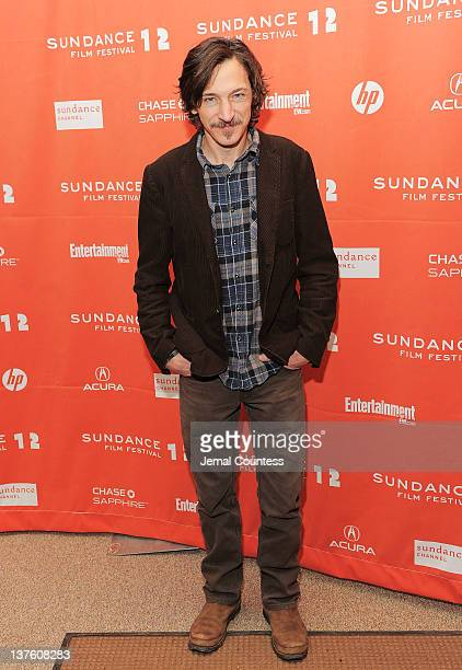 Actor John Hawkes attends 'The Surrogate' premiere during the 2012 Sundance Film Festival held at Eccles Center Theatre on January 23 2012 in Park...