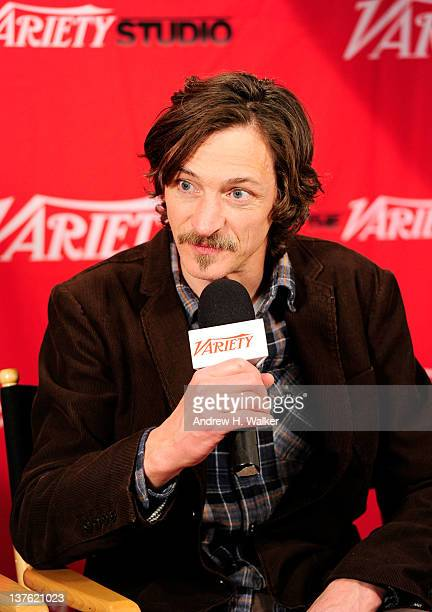 Actor John Hawkes speaks at Day 3 of the Variety Studio at the 2012 Sundance Film Festival on January 23, 2012 in Park City, Utah.