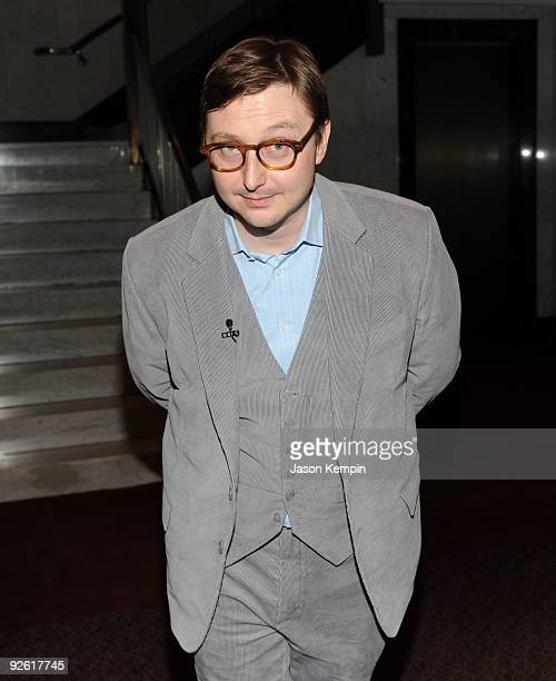 Actor John Hodgman attends a Bored To Death panel at the Paley Center For Media on November 2 2009 in New York City