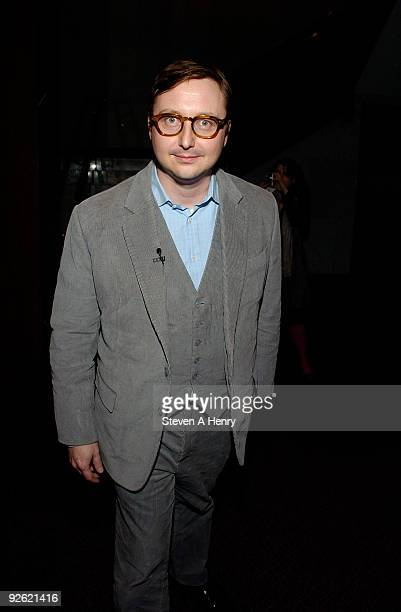 Actor John Hodgman attends Raymond Chandler Meets Craigslist HBO's 'Bored to Death' at the Paley Center For Media on November 2 2009 in New York City